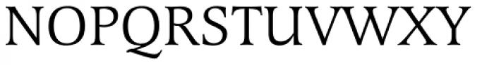Latienne EF Roman SC Font UPPERCASE