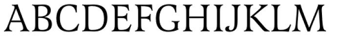 Latienne EF Roman Font UPPERCASE