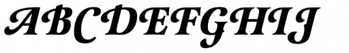 Latienne URW Bold Italic Swash Font UPPERCASE