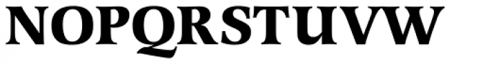 Latienne URW Bold Font UPPERCASE