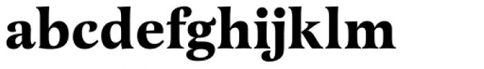Latienne URW Bold Font LOWERCASE