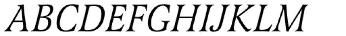 Latienne URW Italic SC Font UPPERCASE