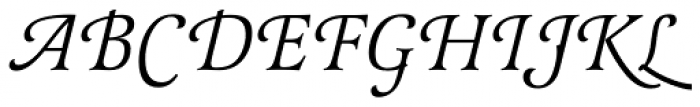 Latienne URW Italic Swash Alt Font UPPERCASE