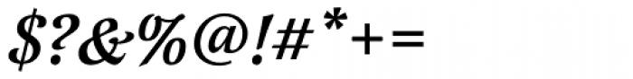 Latienne URW Medium Italic Swash Font OTHER CHARS
