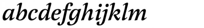 Latienne URW Medium Italic Swash Font LOWERCASE