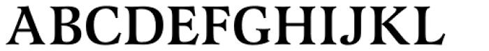 Latienne URW Medium Font UPPERCASE
