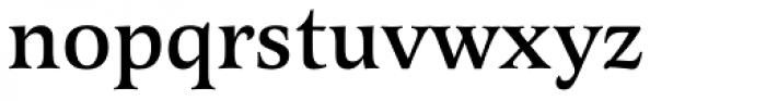 Latienne URW Medium Font LOWERCASE