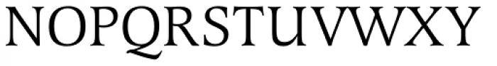 Latienne URW SC Font UPPERCASE