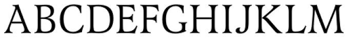 Latienne URW Font UPPERCASE