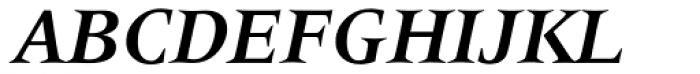 Latin 725 Bold Italic Font UPPERCASE