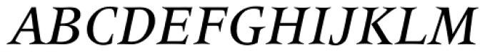 Latin 725 Medium Italic Font UPPERCASE