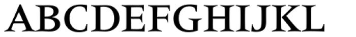 Latin 725 Medium Font UPPERCASE