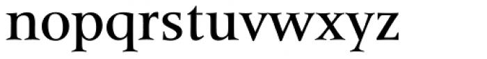 Latin 725 Medium Font LOWERCASE