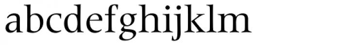 Latin 725 Roman Font LOWERCASE