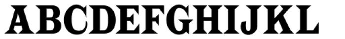 Latin CT Semi Condensed Font UPPERCASE