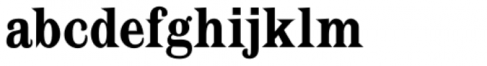 Latin CT Semi Condensed Font LOWERCASE