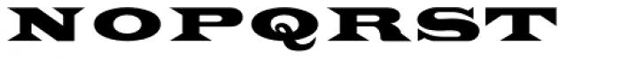 Latin Extra Font UPPERCASE