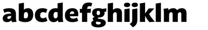 Latina Black Font LOWERCASE