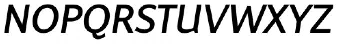 Latinaires Pro Italic Semi Bold Font UPPERCASE