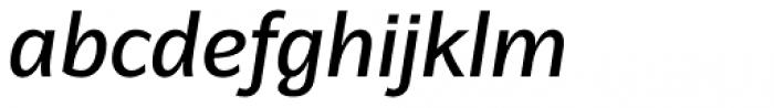 Latinaires Pro Italic Semi Bold Font LOWERCASE