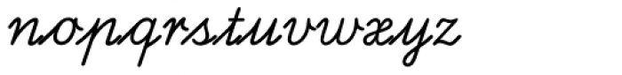 Latinum EF Regular Alt Font LOWERCASE