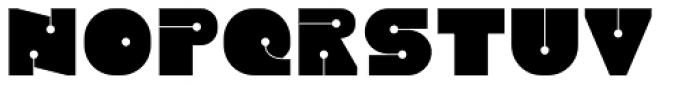 Latok Large Font UPPERCASE