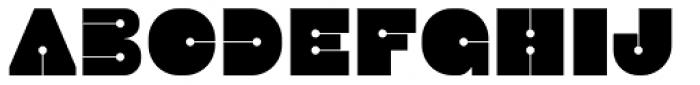 Latok Large Font LOWERCASE