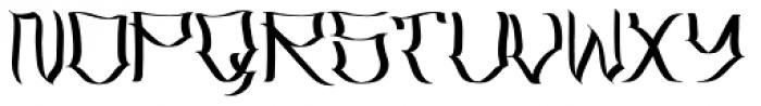 Latos Vocos Font LOWERCASE
