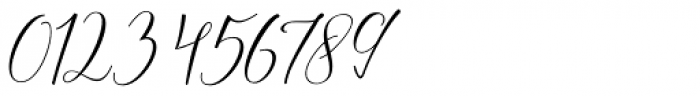 Lattoria Script Regular Font OTHER CHARS