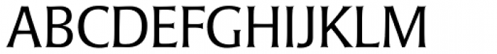 Laudatio Pro Light Font UPPERCASE