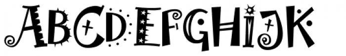 Laughin Plain Font UPPERCASE