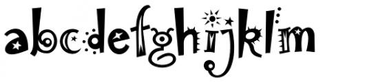 Laughin Plain Font LOWERCASE