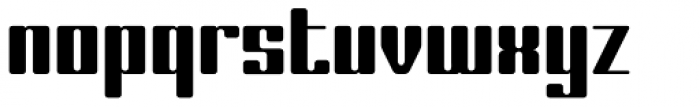 Laural Hardy Font LOWERCASE