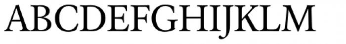 Laurentian Pro Regular Font UPPERCASE