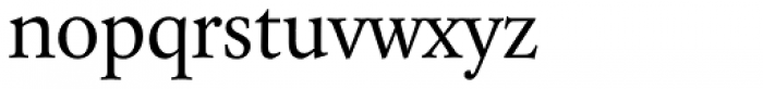 Laurentian Std Regular Font LOWERCASE