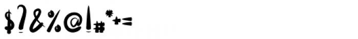 Lavana Regular Font OTHER CHARS