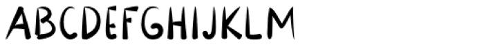 Lavana Regular Font UPPERCASE