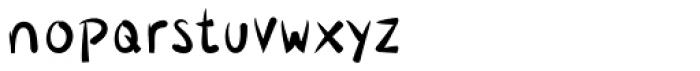 Lavana Regular Font LOWERCASE