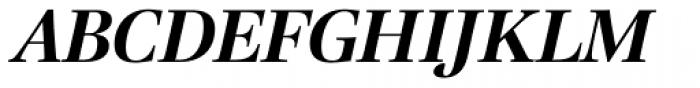 Lavigne Display Bold Italic Font UPPERCASE