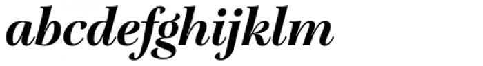 Lavigne Display Bold Italic Font LOWERCASE