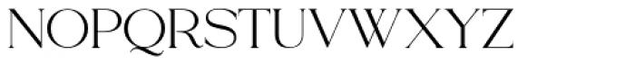 Lawrence Regular Font UPPERCASE