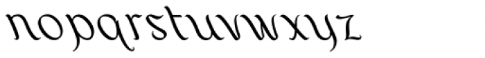 Layar Bahtera Font LOWERCASE