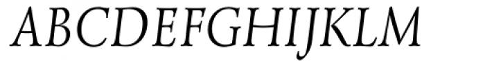 Lazurski Italic Font UPPERCASE
