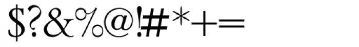 Lazurski Font OTHER CHARS