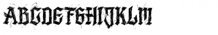 Lazy Monk Font UPPERCASE