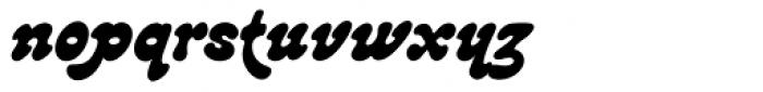 Lazybones Font LOWERCASE