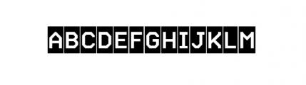 Labelo Rom Highlight Font UPPERCASE