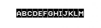 Labelo Uni Highlight Font UPPERCASE