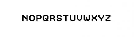 Labelo Uni Normal Font UPPERCASE