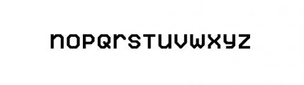 Labelo Uni Normal Font LOWERCASE